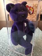 Rare Princess Diana Beanie Baby 1st Edition 1997 Ty, Made In China, P.e Pellets
