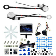 2 Door Car Truck Electric Power Window Conversion Roll Up Switch Kit Universal