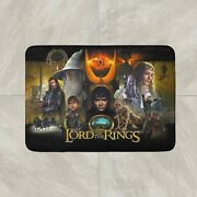 Lord Of The Rings Pinball Game Rug Mat Floor Door Home House Cotton Collectible