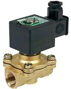 Ascomotion Asco Solenoid Valve 11.2w 2/2 Nc Air/water 24v Dc- 1 1/2 Or 2