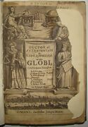 Rare Globes, Coelestial And Terrestrial By Joseph Moxon, London 1659 1st Edition