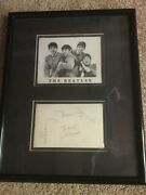 Rare Beatles Fan Club Card Signed By Neil Aspinall Beatles Road Mgr.