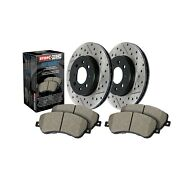 Stoptech Disc Brake Pad And Rotor Kit Front For Infiniti, Nissan / 938.42005