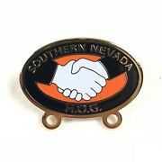 Harley Davidson Hog Harley Owners Group Southern Nevada Chapter Officers Pin