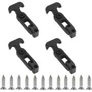 Creatyi 4 Pcs Rubber Flexible T-handle Draw Latches,for Tool Box,cooler, Golf...