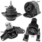 Front, Front Right, Rear And Trans Mount Set Of 4pcs For Kia Forte Forte Koup