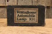 Vintage Westinghouse Automobile Lamp Repair Kit Gas And Oil Service Station Nos