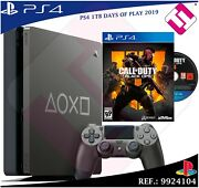 Videoconsola Days Of Play Ps4 1tb 2019 Playstation 4 + Call Of Duty Black Ops 4