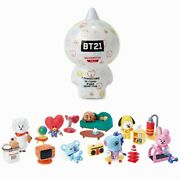 K-pop Official Bt21 Collectible Figure Blind Pack Vol.1 Base Camp Theme