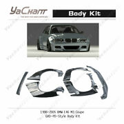 Frp Pd Rb Body Kit Fit For 98-05 Bmw E46 M3 Coupe 2door Front Lip Fender Spoiler