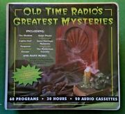 Old Time Radio's Greatest Mysteries 20 Cassettes 30 Hours 60 Programs Free Mp3s
