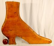 Victorian Shoe Form Wooden Trade Sign