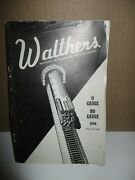 Walthers Model Railroad Equipment O Gauge, Ho Gauge By Walthers 1944, Paperba