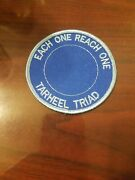 Vintage Girl Scout Tarheel Triad Each One Reach One Patch New
