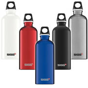 Sigg Water Bottle Traveller Red 1 L Outdoor Travel Portable Hiking Aluminium