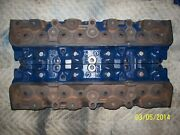 1967 Ford 390 390gt Smog Cylinder Heads C7ae-6090-a Dated 6j16 And 7a19