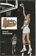 1974-75 Spirits Of St. Louis Aba Yearbook Barnes Lucas Williams Beauty