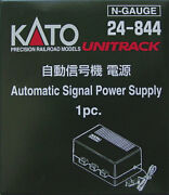 New Kato Unitrack N Scale Automatic Signal Power Supply 24-844