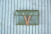 Chinese Mosin Nagant Type 53 Carbine Leather Ammo Pouch W Stamp 1958