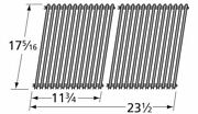 Bbq Grill Weber Stamped Porcelain Steel Cooking Grid 17 5/16 X 23 1/2 Bcp53812