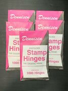 Dennisen Stamp Hinges 5 Packs 5000 Hinges We Help And Support Our Vets