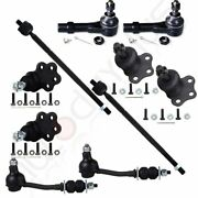 10 Pieces Suspension Parts For 1997 1998-99 Dodge Dakota Rwd Ball Joint Sway Bar