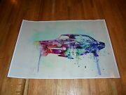 1968 Dodge Charger Poster 19 X 13 Out Of Print 68 Mopar Last One