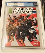 Image Comics Gi Joe 1 Campbell Variant Cgc 9.6 Old Blue Label Highly Collectable