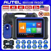 Autel Im508 Automotive Obd2 Diagnostic Scanner Immo Key Chip Programming Tool