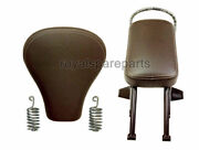 Royal Enfield Classic Chrome 500cc Front And Pillion Passenger Seat With Spring