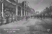 Cpa Militaria Holidays Victory 14 July 1919 Parade Arc Of Triumph