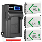 Kastar Battery Lcd Wall Charger For Sony Np-bx1 Npbx1 And Sony Cyber-shot Dsc-hx60