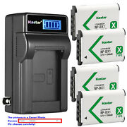 Kastar Battery Lcd Wall Charger For Sony Np-bx1 Npbx1 Sony Cyber-shot Dsc-hx60v