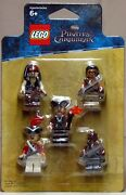 New Lego Pirates Of The Caribbean Battle Pack 5 Minifigures Jack Sparrow 853219