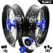 Kke 3.5/4.25 Supermoto Cush Drive Wheels Rims For Suzuki Drz400sm Drz400 Drz400s