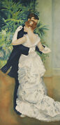 Dance In The City By Pierre-auguste Renoir Signed Le 553/950 Lithograph