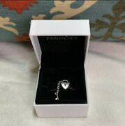 Pandora Key To My Heart Charm Two Tone Silver And 14k Gold 790288