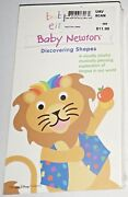 Baby Einstein - Baby Newton - Discovering Shapes Vhs 2002 New And Sealed