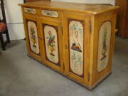 19th-century Antique Sideboard From Cortina D'ampezzo, Italy