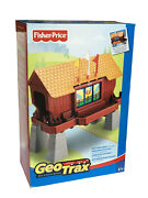 Brand New Fisher-price Geo Trax Switchinand039 Signs Covered Bridge Train All Aboard