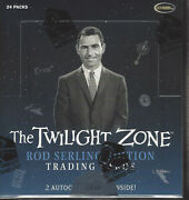 2019 Rittenhouse The Twilight Zone Rod Sterling Edition Factory Seal Hobby Box