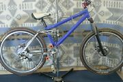 Storm Cycles Corner Worker Mtb Full-sus Vintage Usa Made 26 Fox Azonic Charity