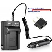 Kastar Battery Ac Travel Charger For Sony Np-fe1 Npfe1 And Sony Cyber-shot Dsc-t7