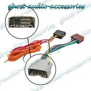 Car Stereo Radio Iso Wiring Harness Connector Adaptor Cable For Dodge Nitro