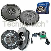 2 Part Clutch And Sachs Dmf With Csc For Mercedes-benz Sprinter Box 316 Cdi 4x4
