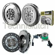 2 Part Clutch Kit And Luk Dmf With Csc For Mercedes-benz Sprinter Box 411 Cdi