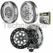 Nationwide 3 Part Clutch Kit And Luk Dmf For Bmw 5 Series Estate 520d