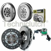 2 Part Clutch Kit And Luk Dmf With Csc For Mercedes-benz Sprinter Bus 216 Cdi