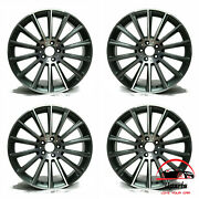 Set Of 4 Mercedes Cls-class 2015-2018 19 Factory Original Staggered Wheels Rims