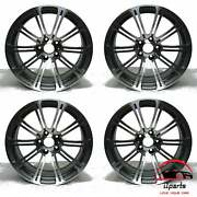 Set Of 4 Bmw M3 2008-2013 19 Factory Original Staggered Wheels Rims